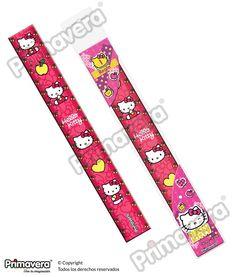 Regla Hello Kitty http://escritura.papelesprimavera.com/product/regla-hello-kitty-primavera-2/