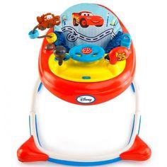 Andador para bebés #BrightStarts Cars. #Andador divertido y muy seguro que cumple con todas las garantías de seguridad para dar los primeros pasos en casa.