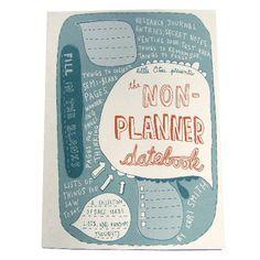 Little Otsu — The Non-Planner Datebook by Keri Smith $12.95