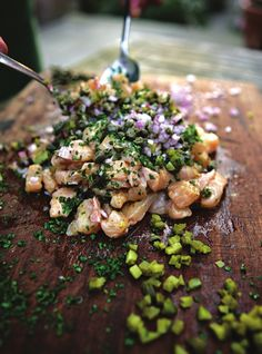 Wow - Salmon Tartare from River Cottage Fish