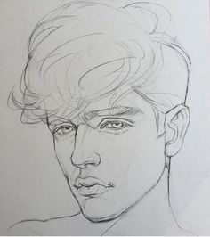 Sketches of people, drawing people, face sketch, drawing sketches, portrait Pencil Art Drawings, Drawing Faces, Drawing Sketches, Sketching, Portrait Sketches, Cartoon Drawings, Drawing Tips, Drawing Ideas, Art Du Croquis