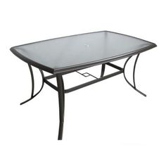 Martha Stewart Living Grand Bank Rectangular Patio Dining Table-DY4067-4062 - The Home Depot