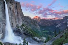 Reconnect with nature.  Photo of Yosemite National Park - California.