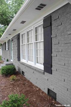 Best Color Shutters For Light Grey House