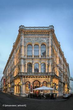 The Café Central in Palais Ferstel