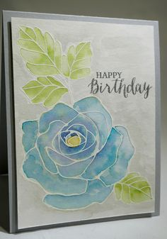 Rose Wonder stamp set, 2016 Occasions Catalog, Watercoloring, Stampin Up, The Stamp Cycle