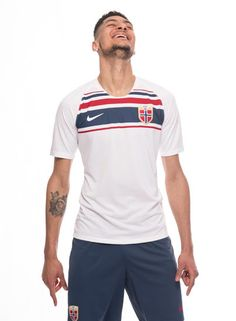 eeca0bedb The Norway 2018 Nike home and away kits introduce bespoke and stylish  designs.