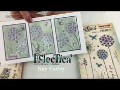 NEW {Feb 2016} Eclectica³ Kay Carley Stamps - YouTube