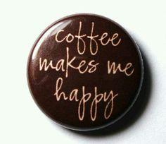 Coffee + Me = Happy