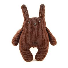 handmade knitted toy