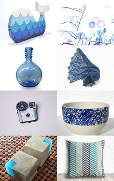Blue for my mom and her grandchilds by Julien Mongeau Amélie Lucier on Etsy--Pinned with TreasuryPin.com