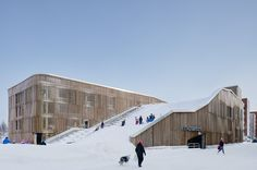Gallery of The Parking Garage that Moonlights as a Sledding Slope / White Arkitekter + Henning Larsen Architects - 1