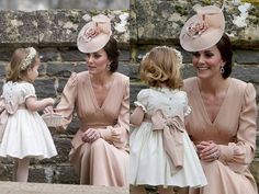 Mother & Daughter moments at Pippa's & James' wedding