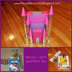 Princess Castle Valentine's Box
