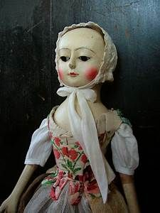 Reproduction English Wooden Queen Anne Dolls | Amazing ...