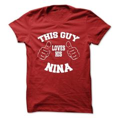 I Love NINA Collection: Valentine version T-Shirts