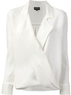 Giorgio Armani блузка с запахом