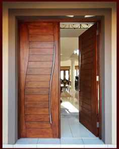 Contemporary Artistic Front Doors   Google Search