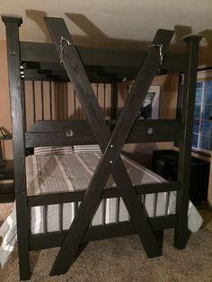2 for 1 matching bondage bed and night от JANMARBEDSANDBONDAGE