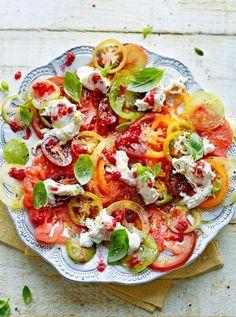 Tomato carpaccio | Jamie Oliver | Food | Jamie Oliver (UK)