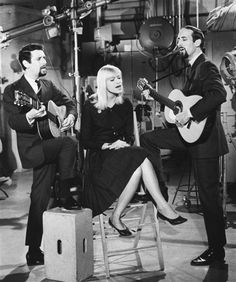 Peter, Paul & Mary performing on the Jack Benny Program in 1962. Mom took me to see them in concert in 1963.