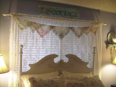 crafts made from handkerchiefs | My Romantic Home: My Handkerchief Projects