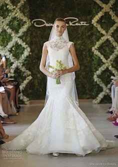 #Oscar de la Renta Bridal Spring 2013 #2013 Wedding Dresses and Trends: #Wedding Dresses