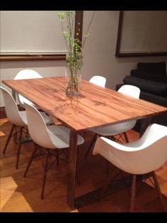 Recycled Spotted Gum Timber Dining TableFurniturePinterest