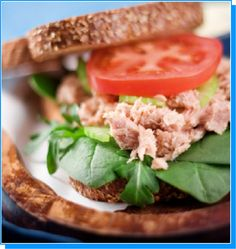 Information and resources for anyone considering the TLC Diet. This diet helps you to lower cholesterol and lose weight naturally. Healthy Recipes, Lunch Recipes, Diet Recipes, Diet Tips, Healthy Foods, Healthy Tuna, Eating Healthy, Kiwi, Vegetarian