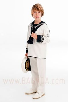 Traje de marinero 2017 varones 1002 en Baunda Madrid Kids Fashion Boy, Kids Boys, Normcore, Jackets, Ideas Para, Style, Wedding, Kids Fashion, Dresses For First Communion