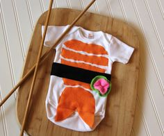 Sushi Baby Costume Baby Halloween Costume by mylittlemookie, $28.00