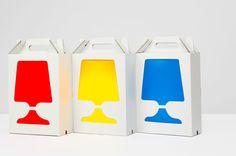 Lámpara portátil del diseñador Hiroshi Tsunoda