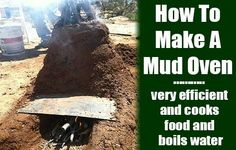 How To Build A Mud Stove - SHTF, Emergency Preparedness, Survival Prepping, Homesteading