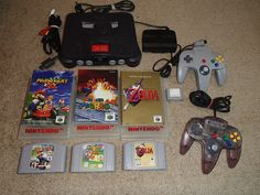 Nintendo 64 N64 Console Bundle! Tested! Mario Kart Zelda & Super Mario! LOOK!  $199.99End Date: Wednesday Oct-5-2016 7:53:35 PDTBuy It Now for only: $199.99Buy It Now | Add to watch list