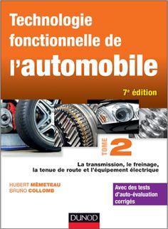 Livre : Technologie fonctionnelle de l'automobile - Tome 2.pdf ~ Cours D'Electromécanique