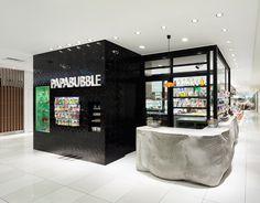 Concrete cast in fabric: Papabubble Tokyo by Schemata Architecture Office
