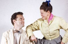 Love this photo...  Ray & Charles Eames