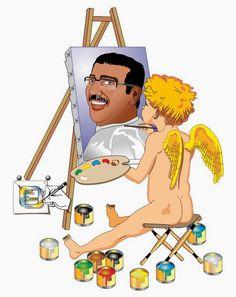 Auto retrato numa visão ilustrativa diferente. Desenho - Ilustração - Illustration - Drawing jearterocha@gmail.com