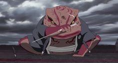 Naruto and Gamabunta