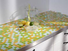 Träger Der Mosaik Küchen Arbeitsplatte Ist Das Schon Bekannte Kerdi Board,  Das