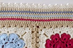 Welcome to the tutorial of How To make the Maybelle Baby Blanket Border & Edging. When I designed this blanket, I wanted it to be g...