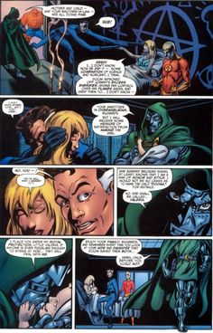 """Fantastic Four v3 #54: The Birth of Valeria Richards  """"And that's why Val in current FF books refers to him as her """"Uncle Doom.""""    2002    http://scans-daily.dreamwidth.org/4043259.html"""
