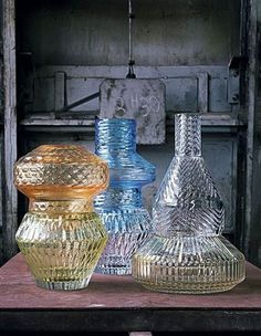 """Variations"" collection by Patricia Urquiola for Baccarat. See more images on my blog post ""Brillante choice"""