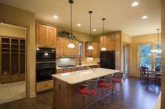 living room kitchen open floor plans - Bing images