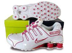 Cheap Women Nike Shox NZ Shoes Galvanoplastics Mesh Upper peach