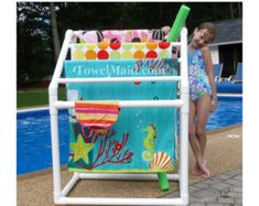 7 Bar Curved TowelMaid Rack by TowelMaid on Etsy