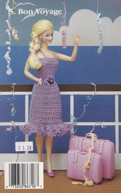 Vacation Sensation J. & P. Coats Crochet by LucyGooseyDolls