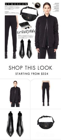 """""""Bomber jacket!"""" by helenevlacho ❤ liked on Polyvore featuring DRKSHDW, Y-3, Acne Studios, Yohji Yamamoto and svmoscow"""