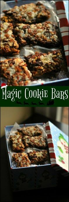 Magic Cookie Bars are one of the ALL-TIME most popular Christmas Treats!  This is my husband's FAVORITE version and one we make every year!!!!