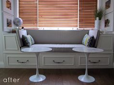 kitchen nook window seat